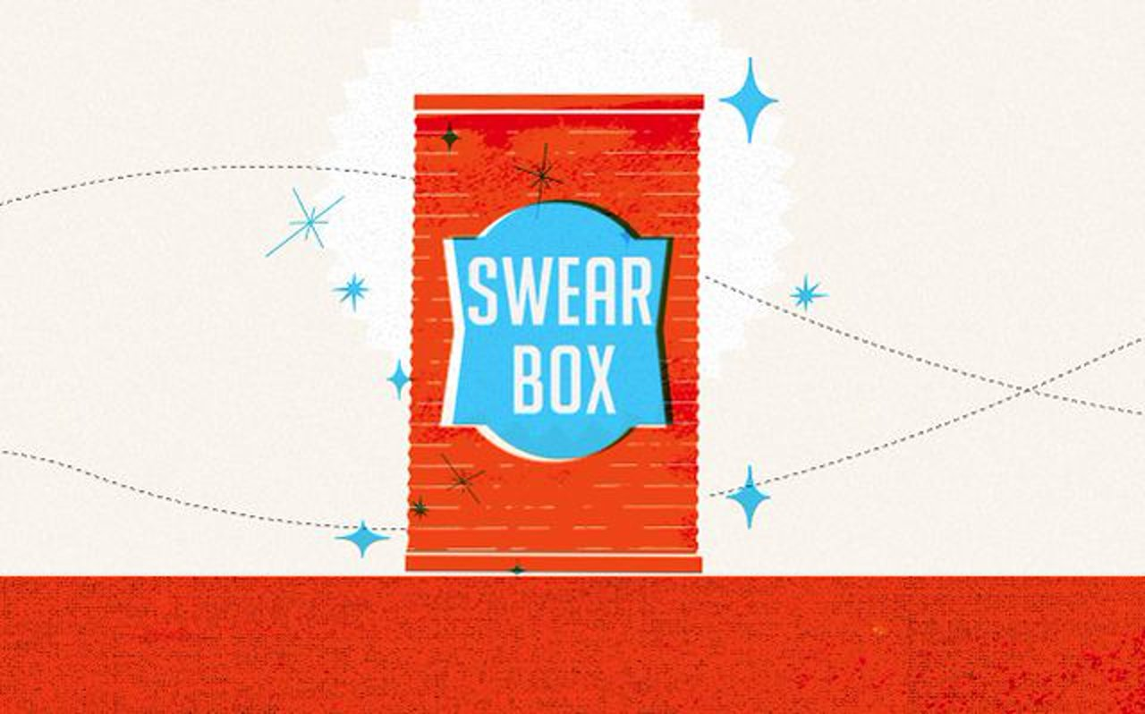 charity swearbox a twitter swear jar for a good cause