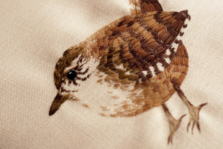 Tiny Animal Embroideries by Chloe Giordano