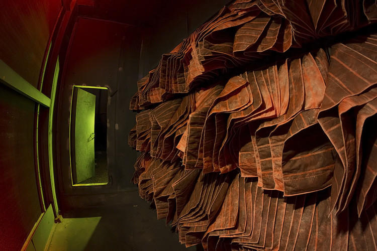 Eerie Night Photos of an Abandoned San Francisco Chronicle Printing Plant by Troy Paiva