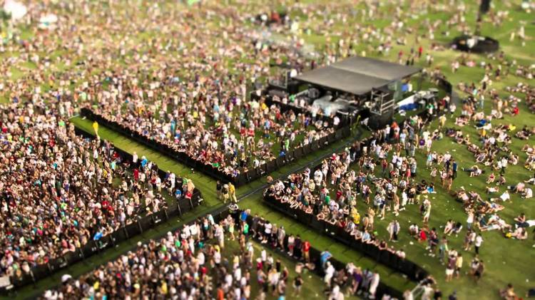 Coachelletta, A Tilt-Shift Video of Coachella