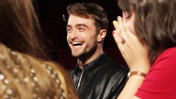 Daniel Radcliffe Surprises Fans At A Movie Theater