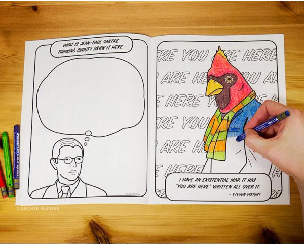 The Existential Coloring Book by Archie McPhee