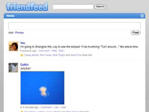 FriendFeed Beta Redesign Featuring Updates in Real-Time