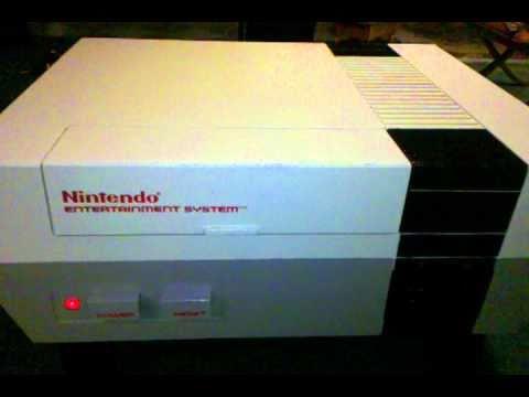 Giant Nintendo Entertainment System Nes Coffee Table