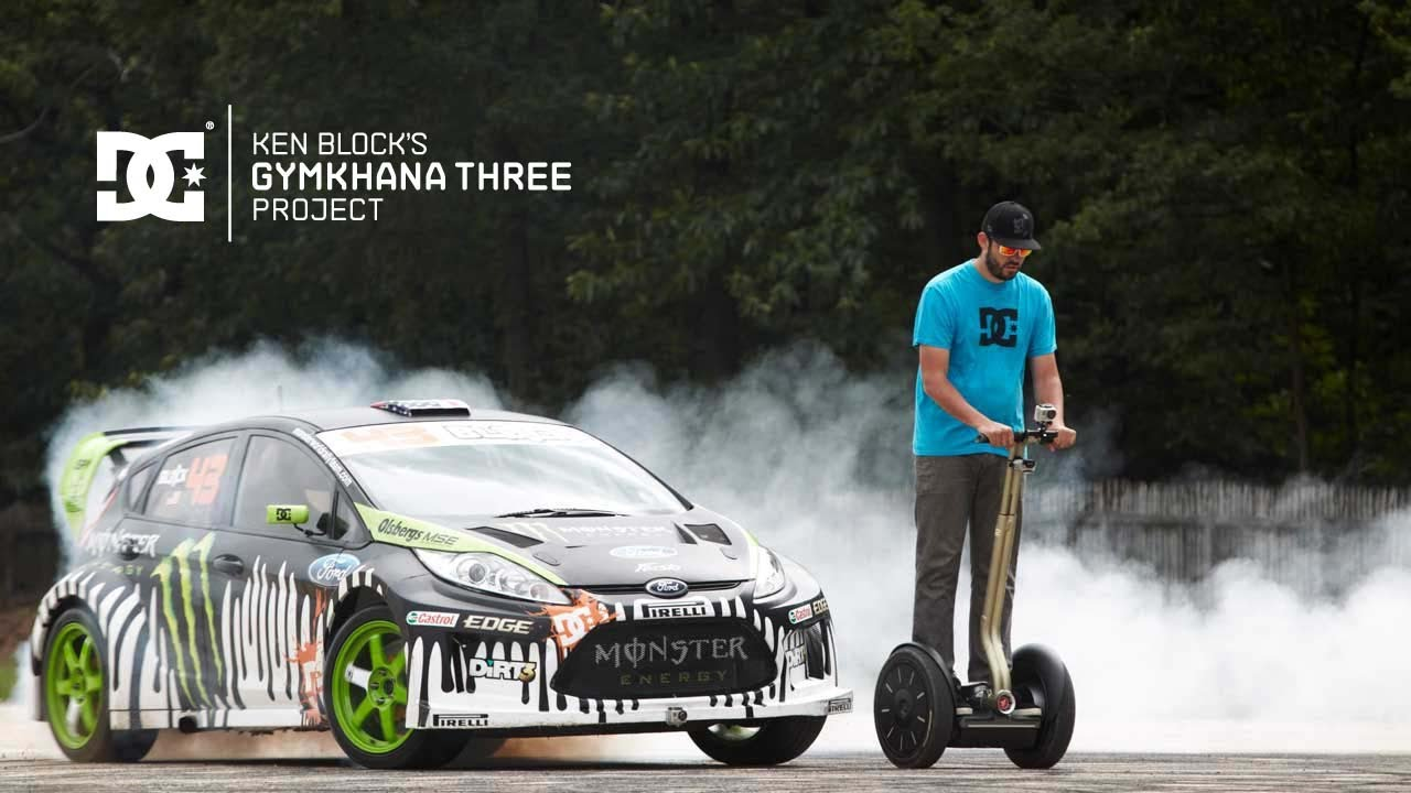 gymkhana 3 ken block does some extreme driving in france. Black Bedroom Furniture Sets. Home Design Ideas