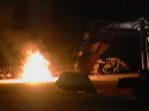 HELCO at Burning Man 1996 by Chuck Cirino