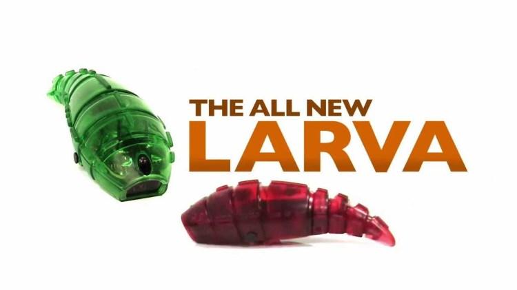 HEXBUG Larva, The Autonomous Wriggling Robot Bug