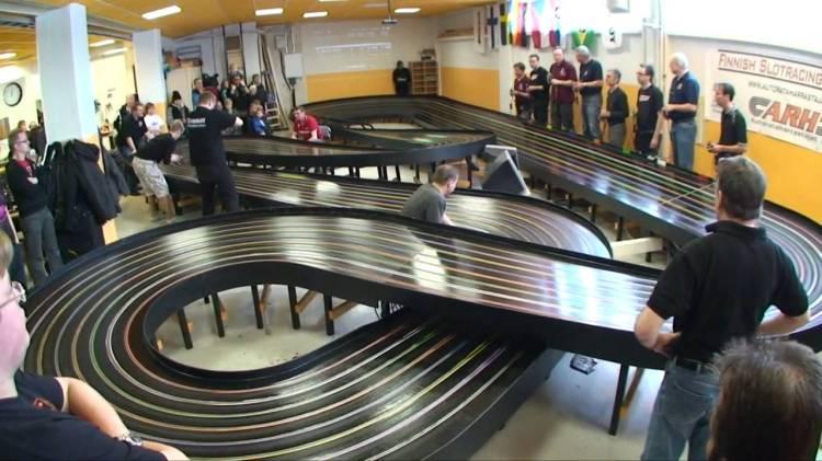 Slot car racing cars
