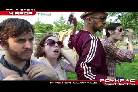 Hipster Olympics, An Epic Battle of Apathetic Grandeur