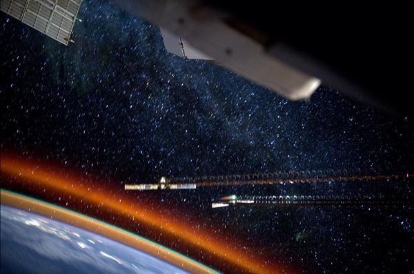 Atmosphere Photo From ISS