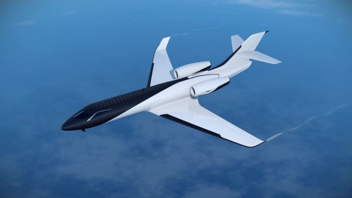IXION A Private Jet Concept Design That Replaces Windows With Cameras And Fl