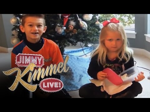 Jimmy Kimmel Challenge: Parents Give Their Kids a Terrible Present