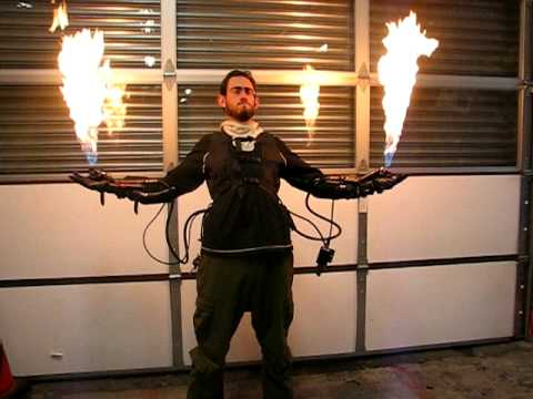 JMFX Flame Glove System Demo