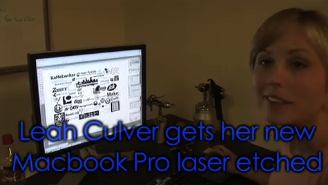 Laughing Squid Sponsors Leah Culver's Laser Etched MacBook Pro