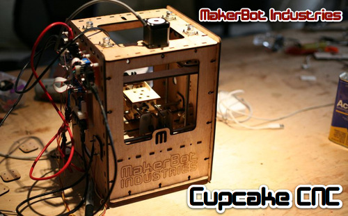 MakerBot Industries Launches With Cupcake Frosting Robot