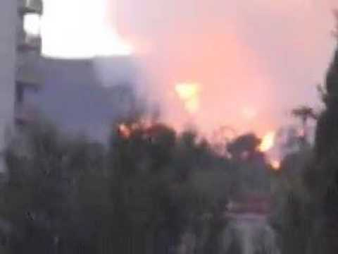 Massive Fire Consumes Los Angeles' Griffith Park