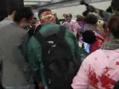 Mayoral Debate & Zombie Attack Photos