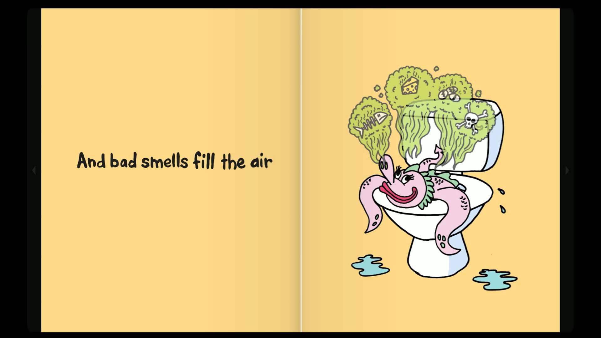 Monster Poop, A Children's Potty Training Book