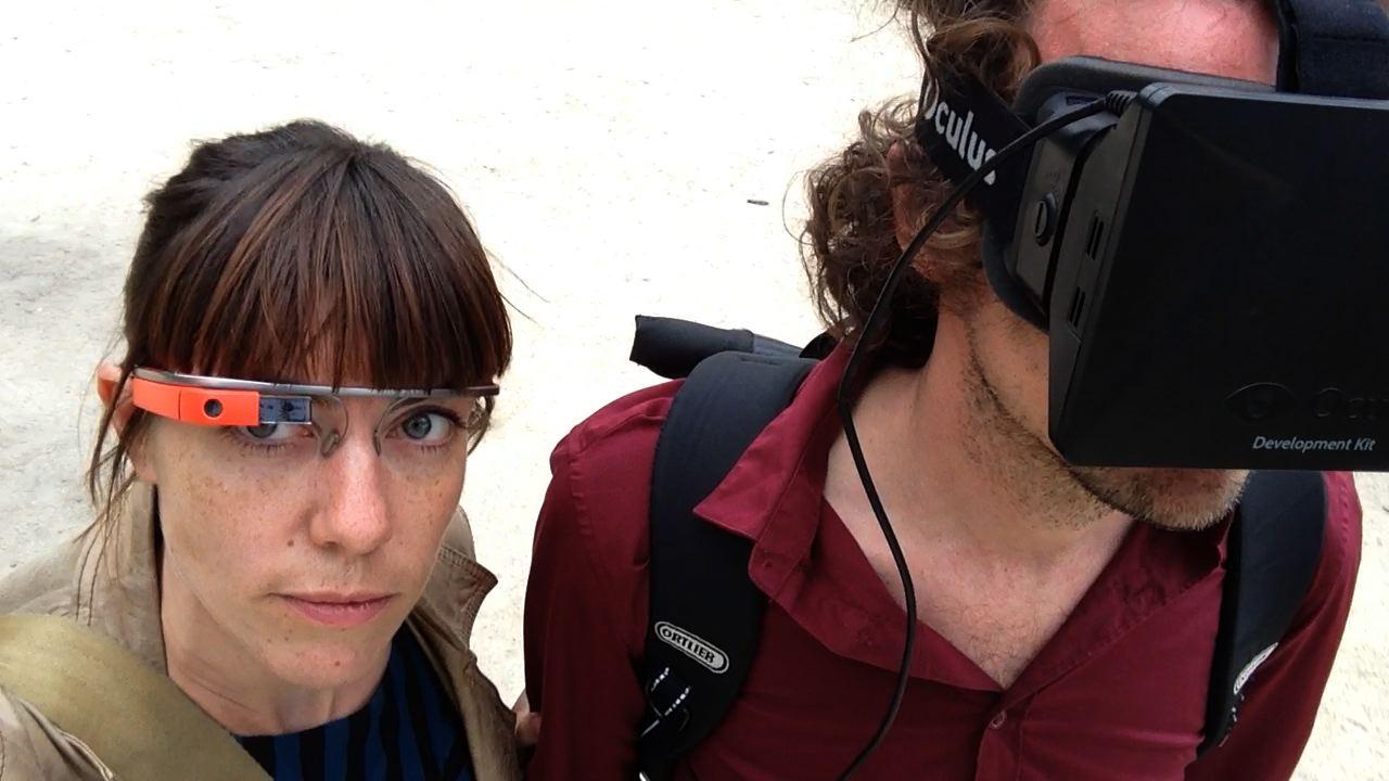 OcuplusGlass, Guided Tours for the Oculus Rift Virtual Reality Headset Using Google Glass