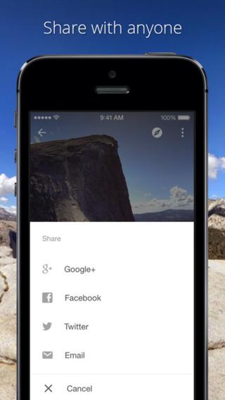 Photo Sphere App