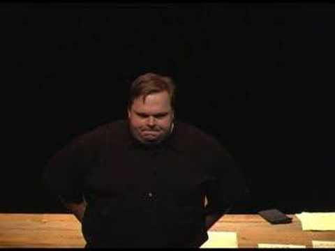 Radical Mute Mob Disrupts Mike Daisey Performance