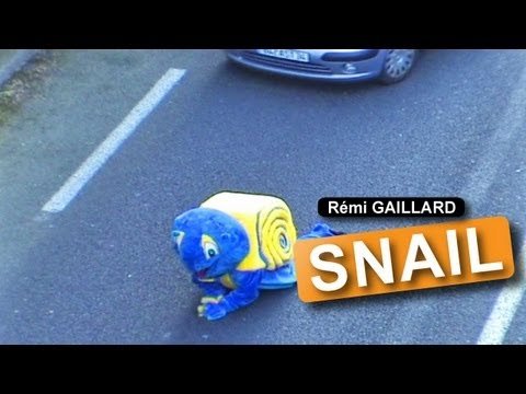 Remi Gaillard Makes Traffic Move At A Snail's Pace