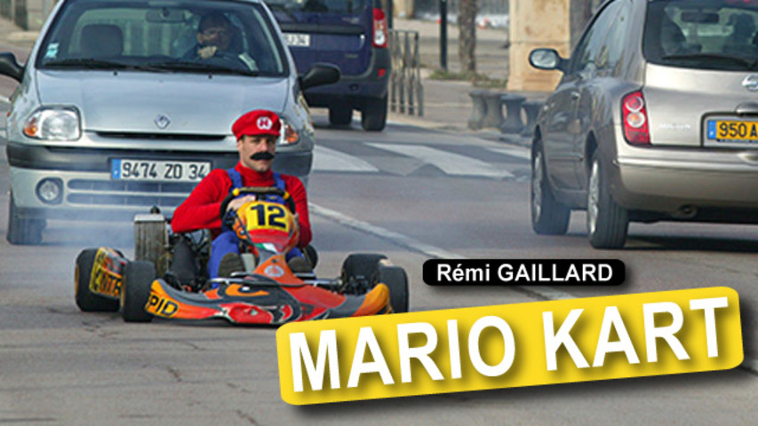 Remi Kart, A Real World Version of Mario Kart by Remi Gaillard