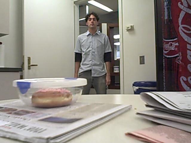 Scotty HAD an Office Job