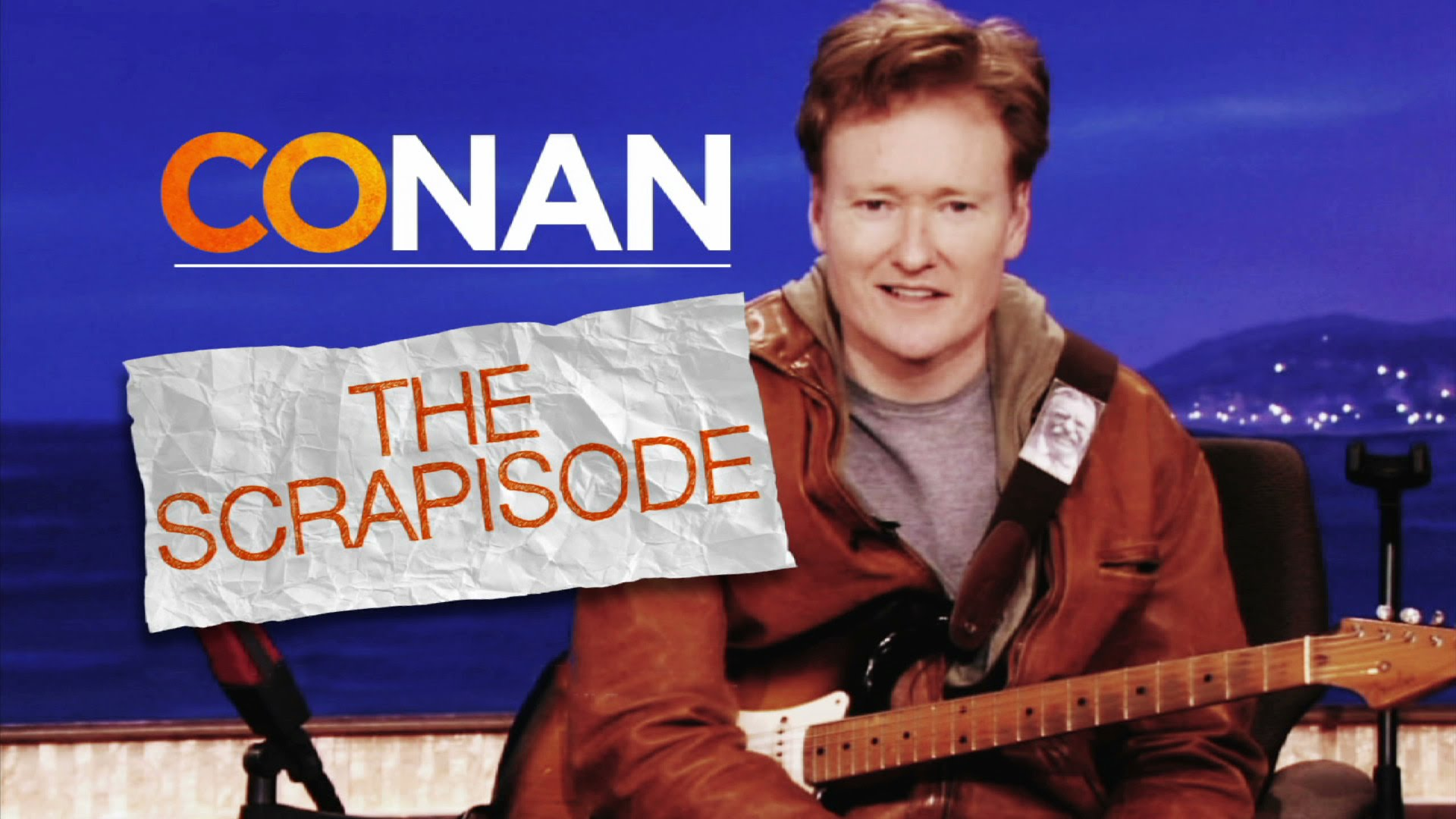 'Scrapisode', An Entire Episode of 'Conan' Created Using Outtakes of Show Rehearsal Clips