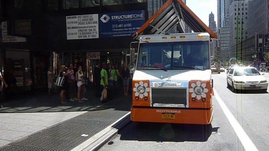 Solar Ice Pop Truck Gives Out Free Ice Pops & Home Solar Energy Info