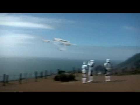 Star Wars vs. Star Trek, The Death Star Destroys The Starship Enterprise Over San Francisco
