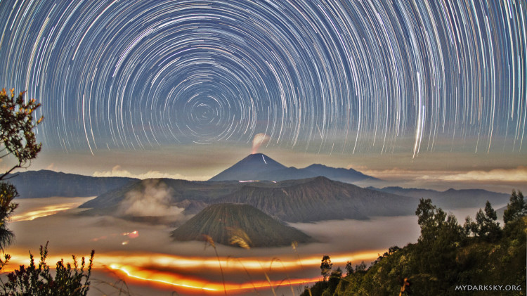 Indonesia Star Trail