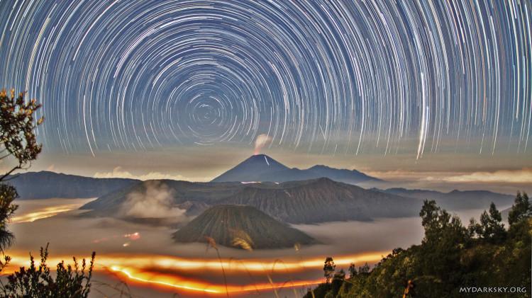 Indonesia Star Trail