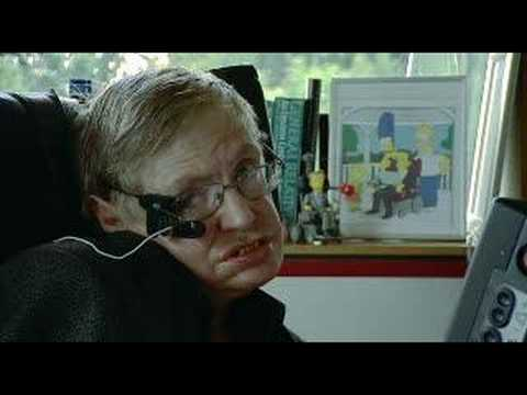 Stephen Hawking Talks About The Simpsons