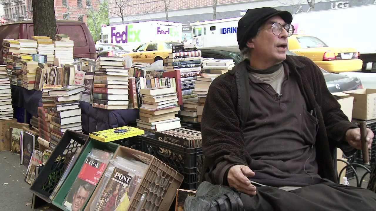 Street Bookseller Holds On To Manhattan Parking Spot For