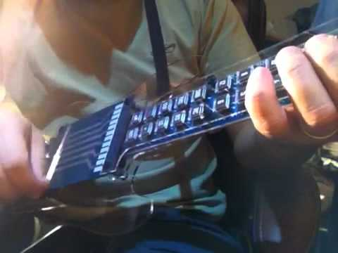 Tabstrummer, A Pushbutton Electronic Guitar