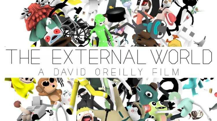 The External World, A Surreal Lo-Fi CG Animation by David O'Reilly