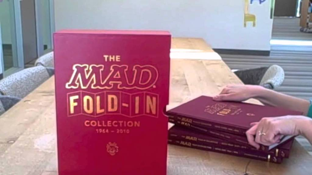 The MAD Fold-In Collection, Al Jaffee Fold-In Cartoons From 1964-2010