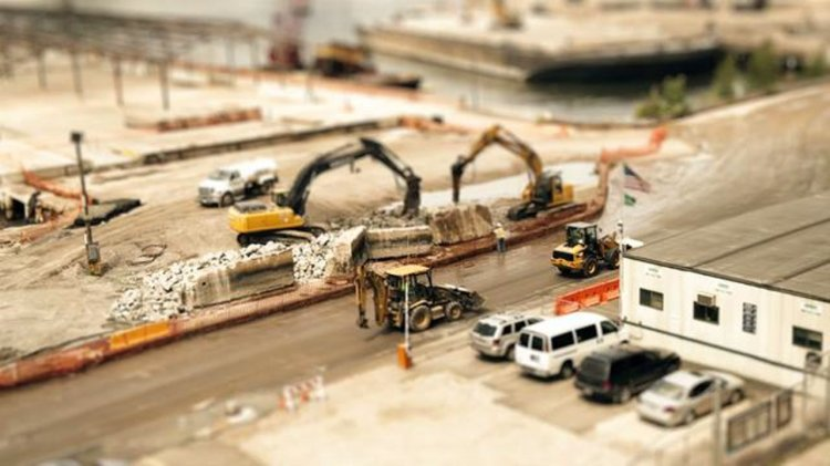 The Sandpit, Tilt-Shift Video of New York City