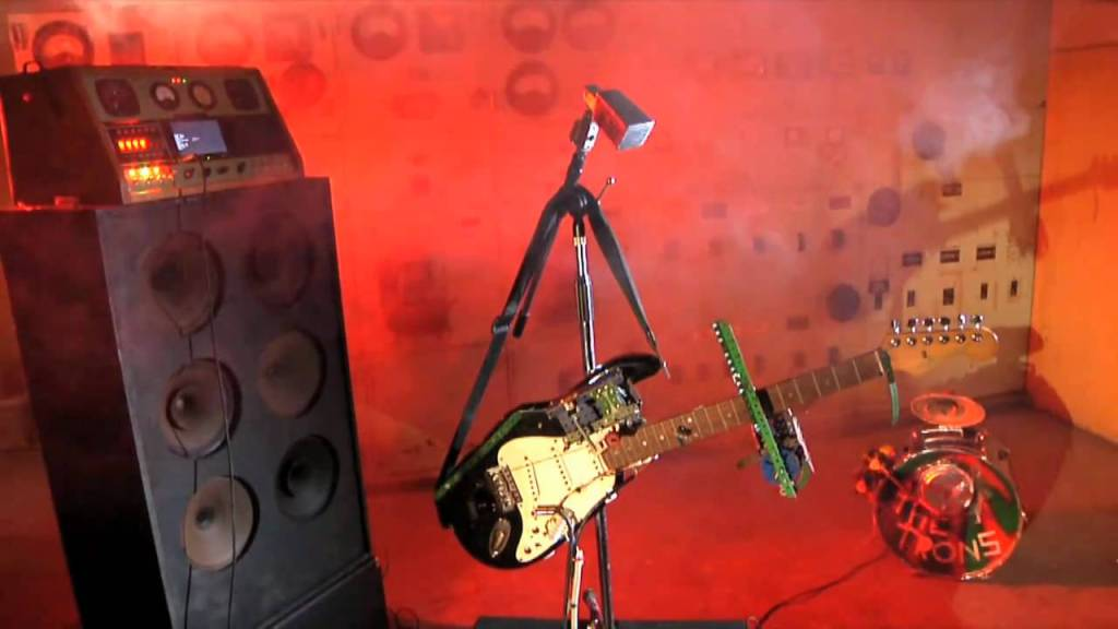 The Trons, A Garage Rock Robot Band