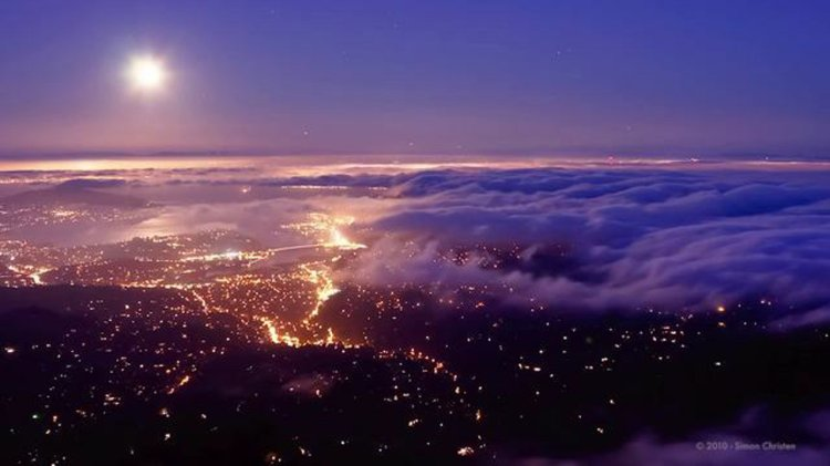 The Unseen Sea, A Beautiful Time-Lapse Video of San Francisco