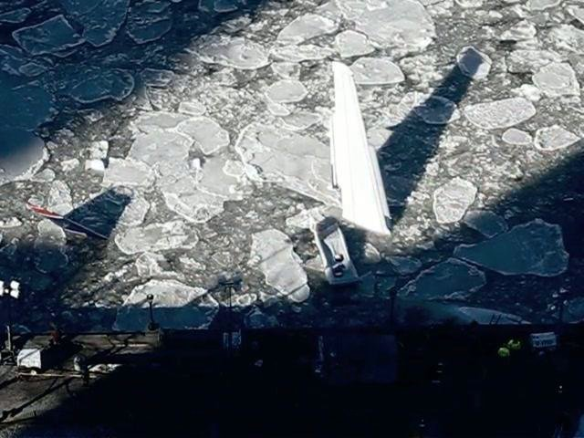 Time-Lapse Video of US Airways 1549 Jet Emerging From The Icy Hudson, Now Up For Auction