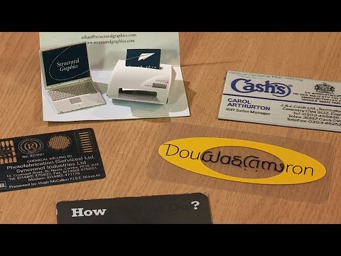 Toy Collector Tim Rowett Shows Off His Collection of 'Unthrowawayable' Novelty Business Cards