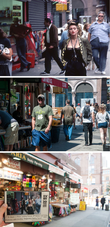 Then and Now Photos of the East Village