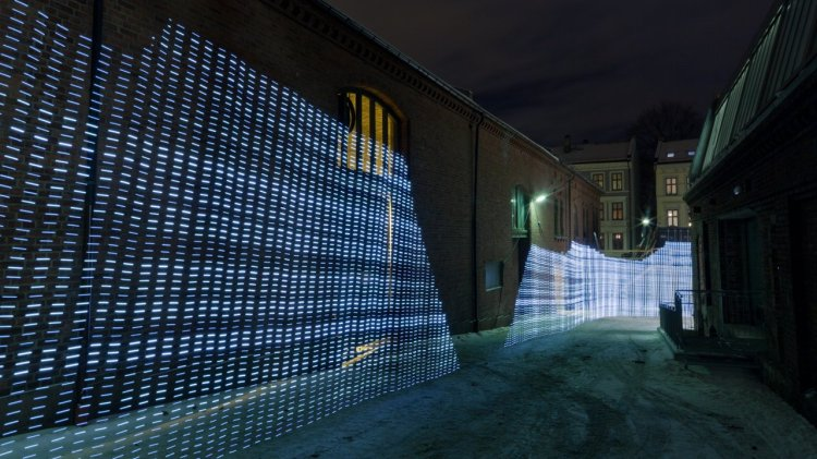 Using Light Painting to Visualize WiFi Networks