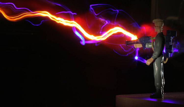 Ghostbusters (proton stream) episode