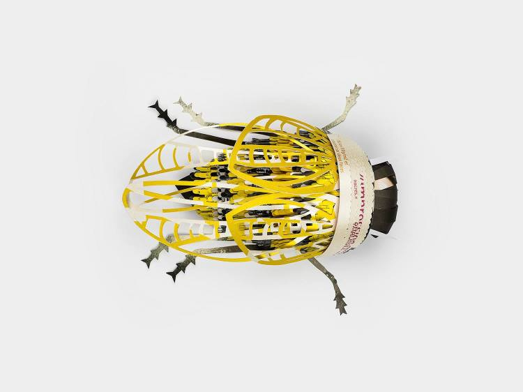 Papercraft Insects by Soon