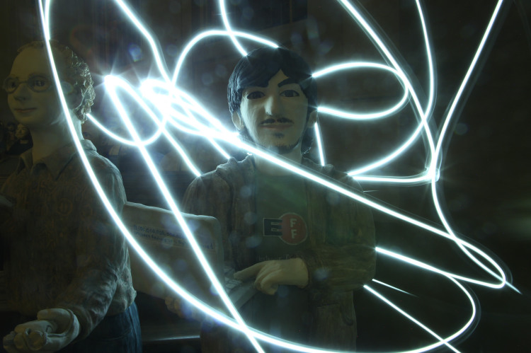 Light Painting Photos of the Internet Archive by Jason Scott