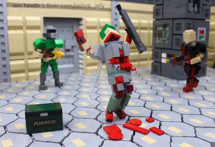 A Stunning Lego Homage To The Classic 1993 Video Game Doom