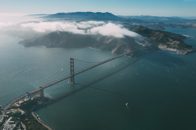Aerial Photos of San Francisco As Seen From a Small Plane